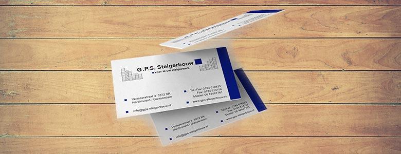 visitekaartje gps steigerbouw